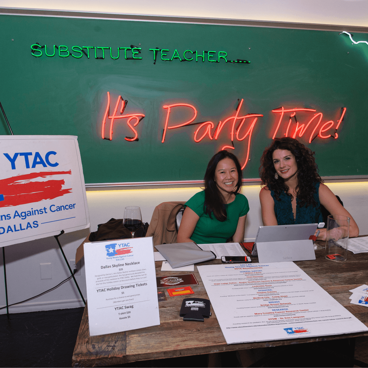 YTAC Dallas holiday party