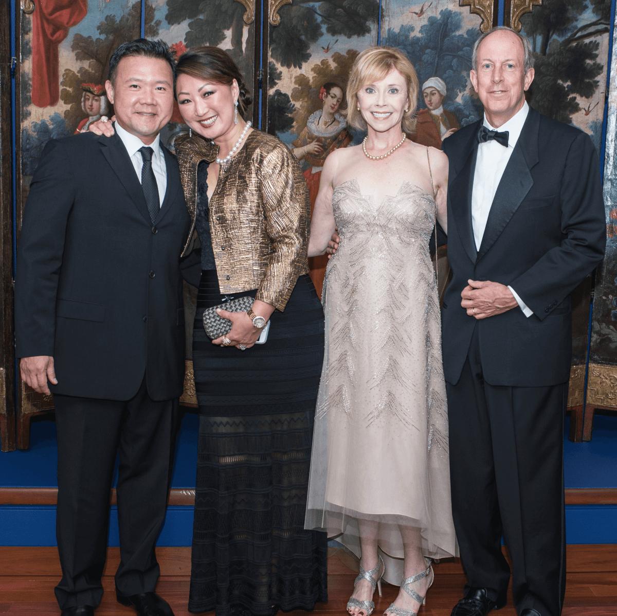 Mike and Marsha Halloran, Sam and Sandra Moon
