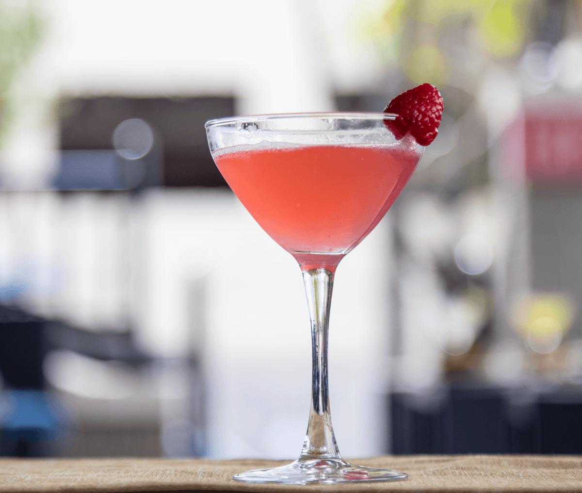 Sophia's restaurant Austin La Donna cocktail
