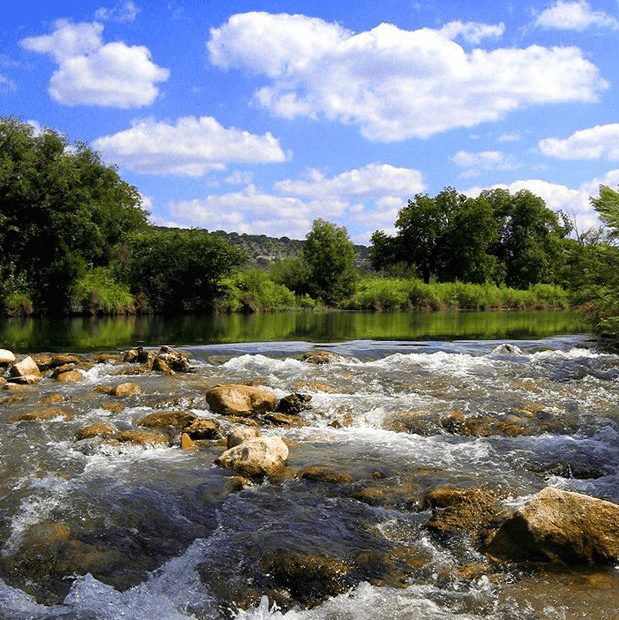 Pedernales Falls State Park camp hike hiking river creek