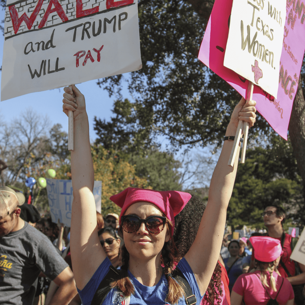 Women's March Austin Skyla
