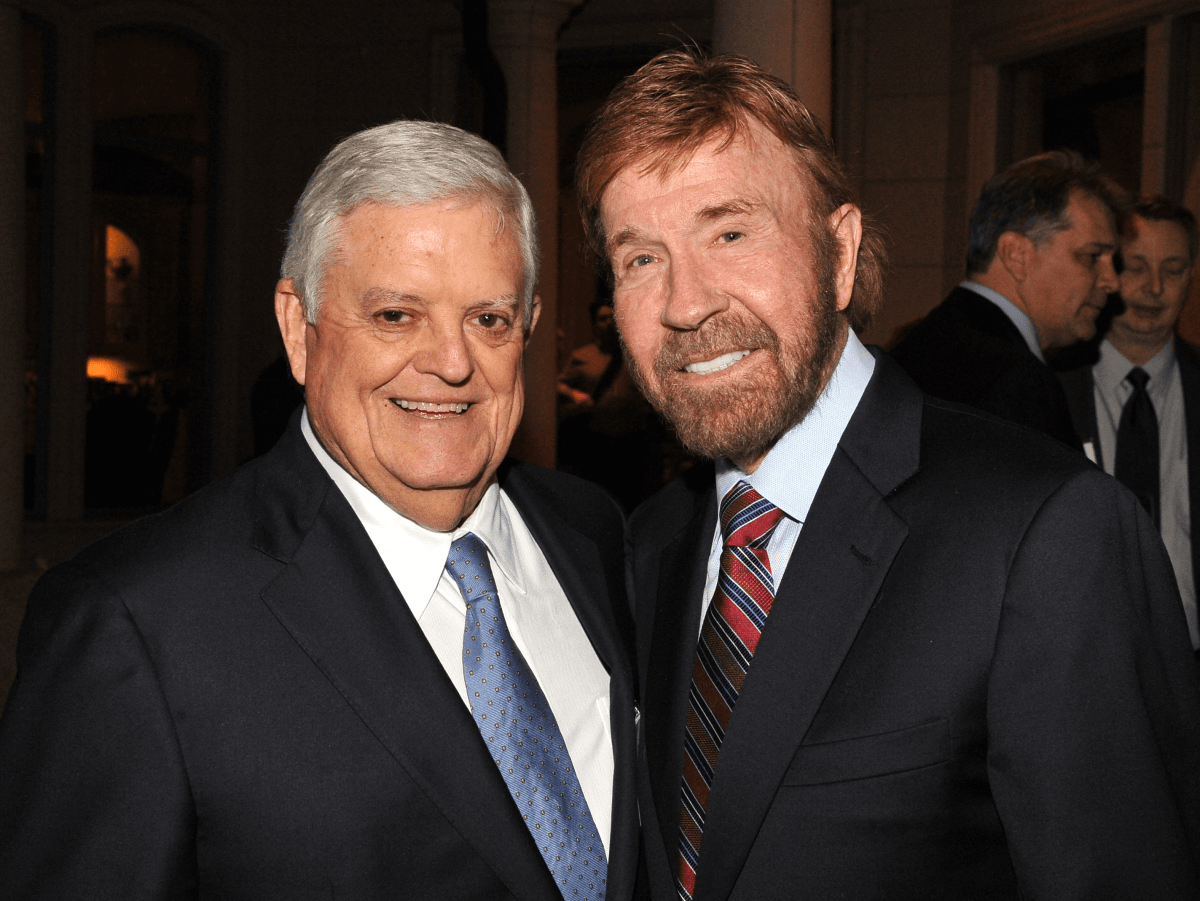 Houston, Chuck Norris Kickstart Kids event, Jan 2017, Jim Braniff, Chuck Norris