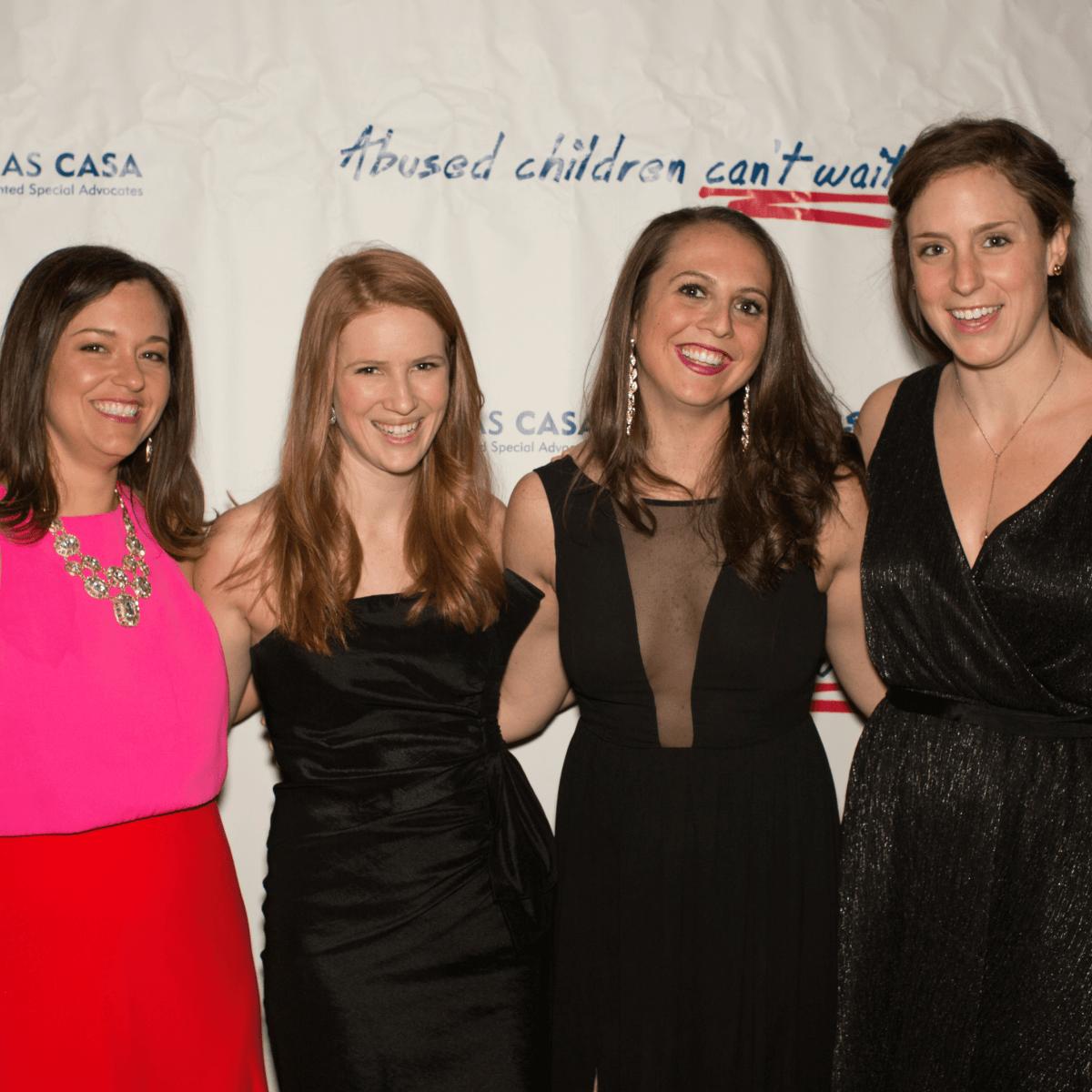 Jenny Jones, Annika Lewis, Ashley Tobin, Meredith Rubin