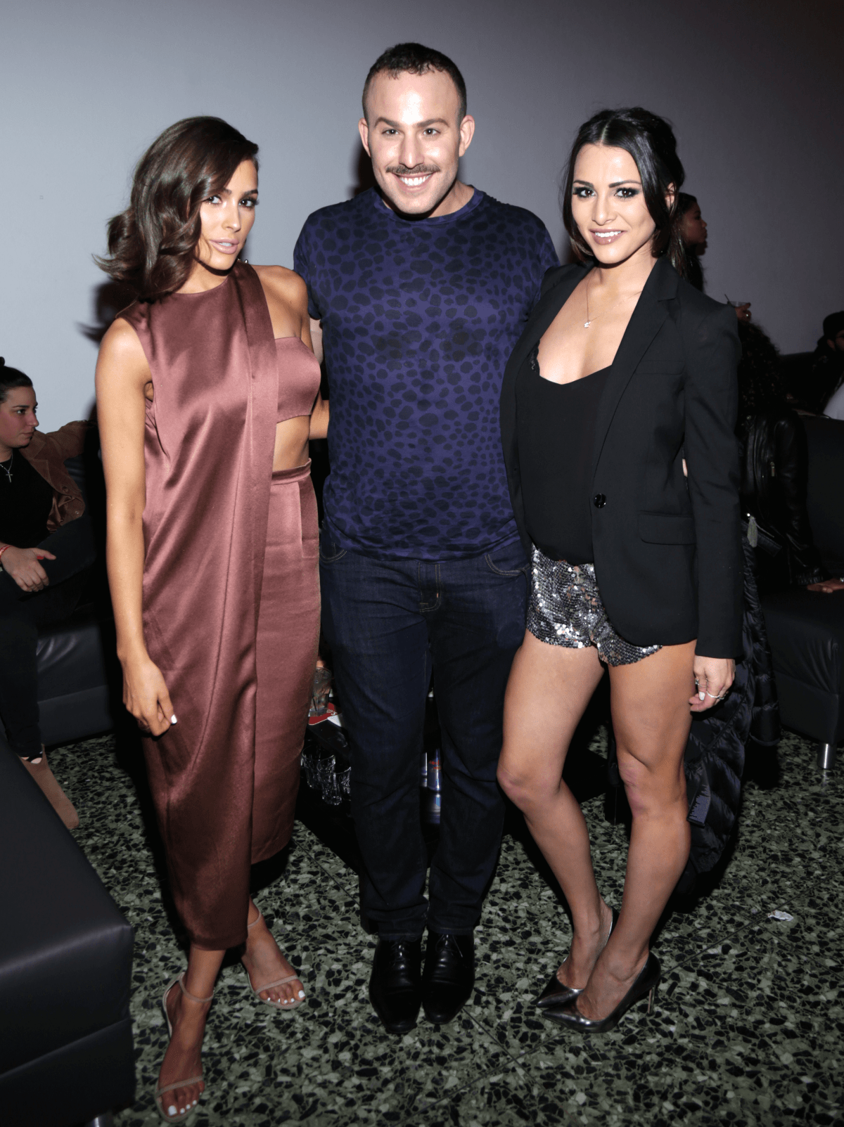 Houston, Rolling Stone Super Bowl party, Jan 2017, Olivia Culpo, Micah Jesse,  Andi Dorfman