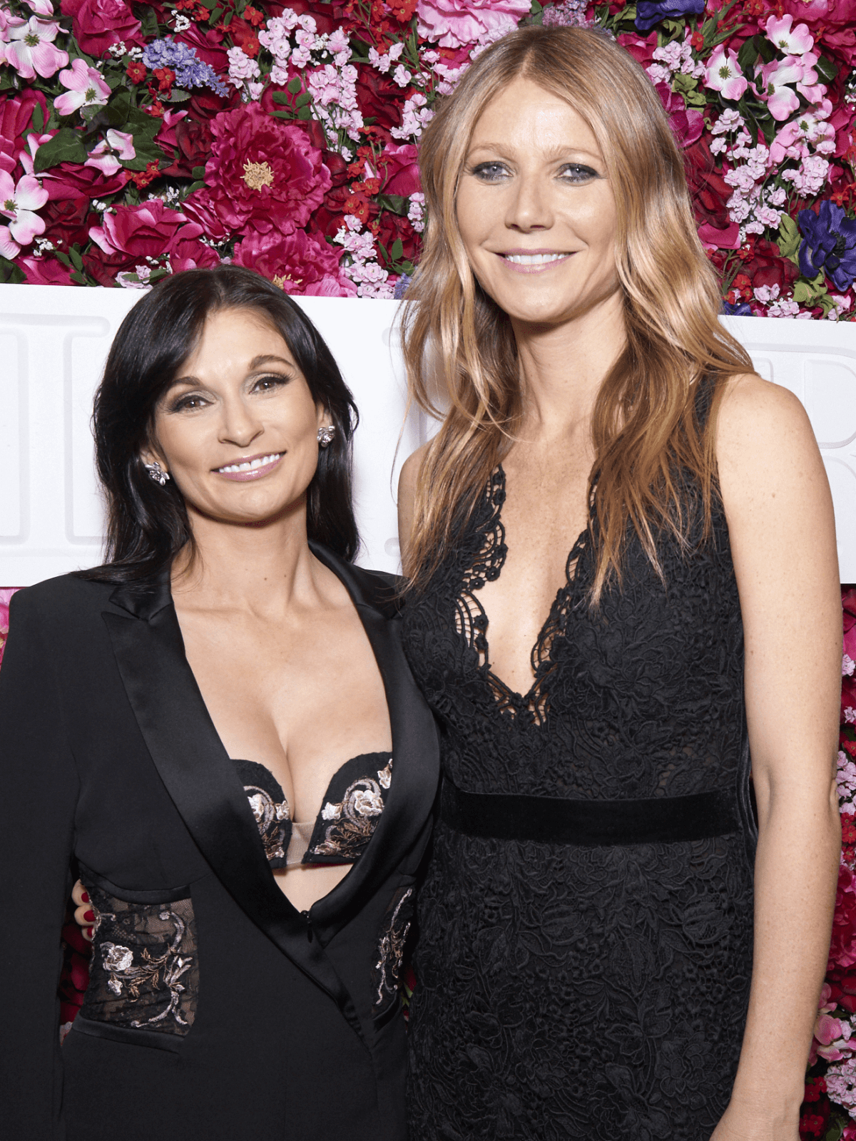Houston, NYFW La Perla, Feb 2017,  Creative Director of La Perla Julia Haart and Gwyneth Paltrow