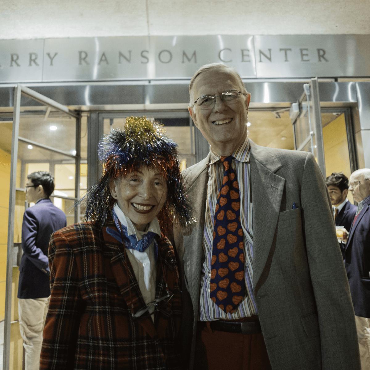 Harry Ransom Center Kaleidoscope February 2017 Judge Janice Law Donald Jansen
