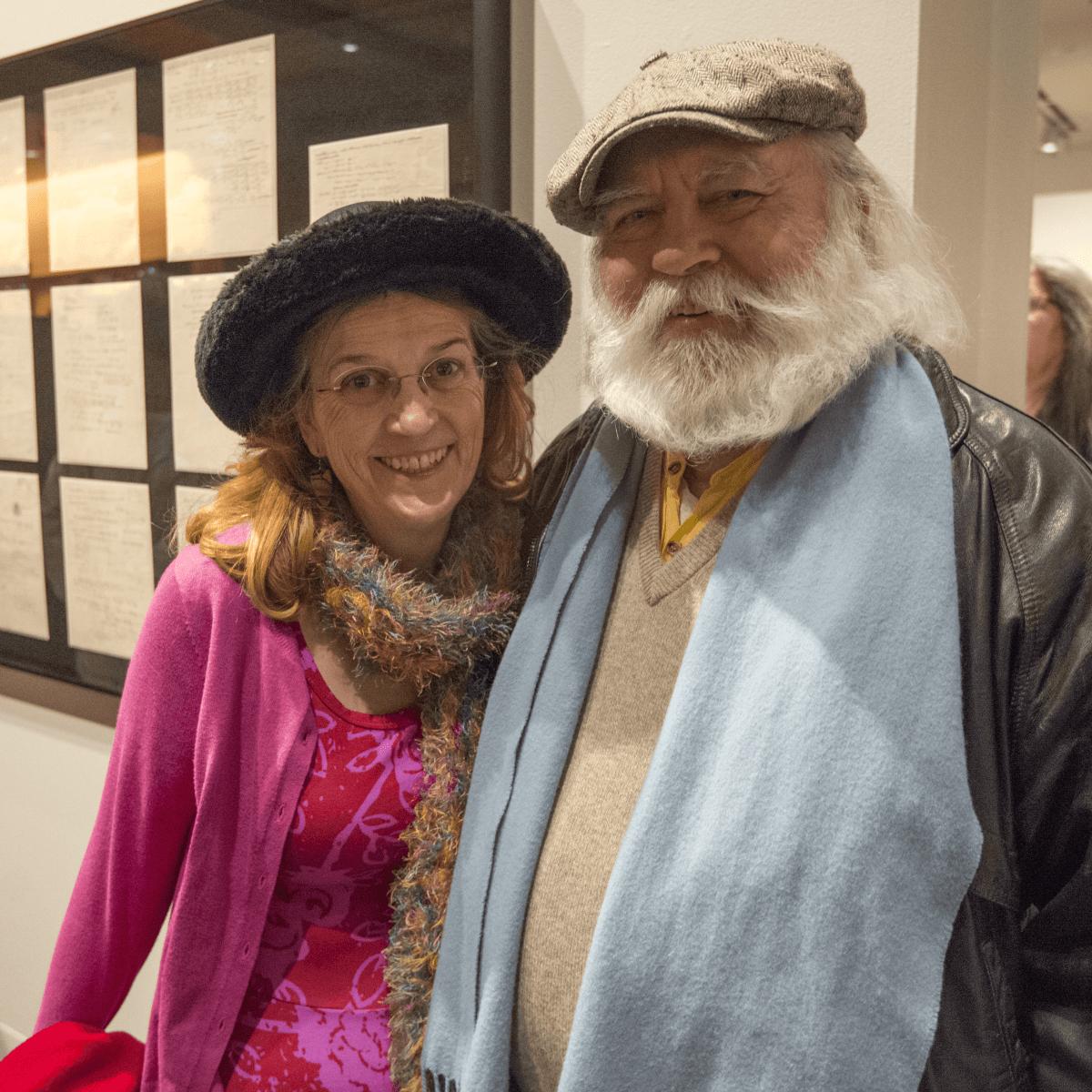 Harry Ransom Center Kaleidoscope February 2017 Rose Sharon Peter Rock