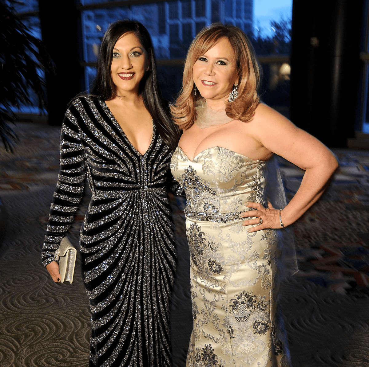 Houston, Winter Ball Women of Distinction, Feb 2017, Dr. Sippi Khurana, Cyndy Garza Roberts