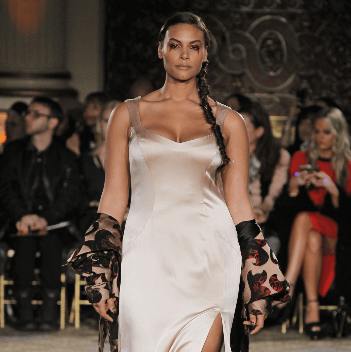 Christian Siriano fall 2017 collection look 22