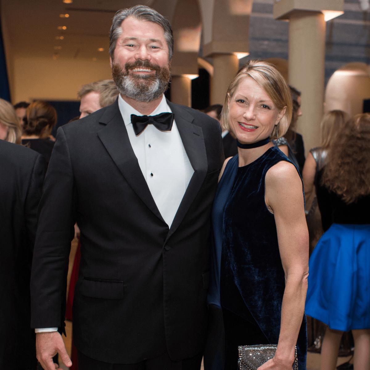 Blanton Museum of Art Gala 2017 Patrick Wade Bridget Wade