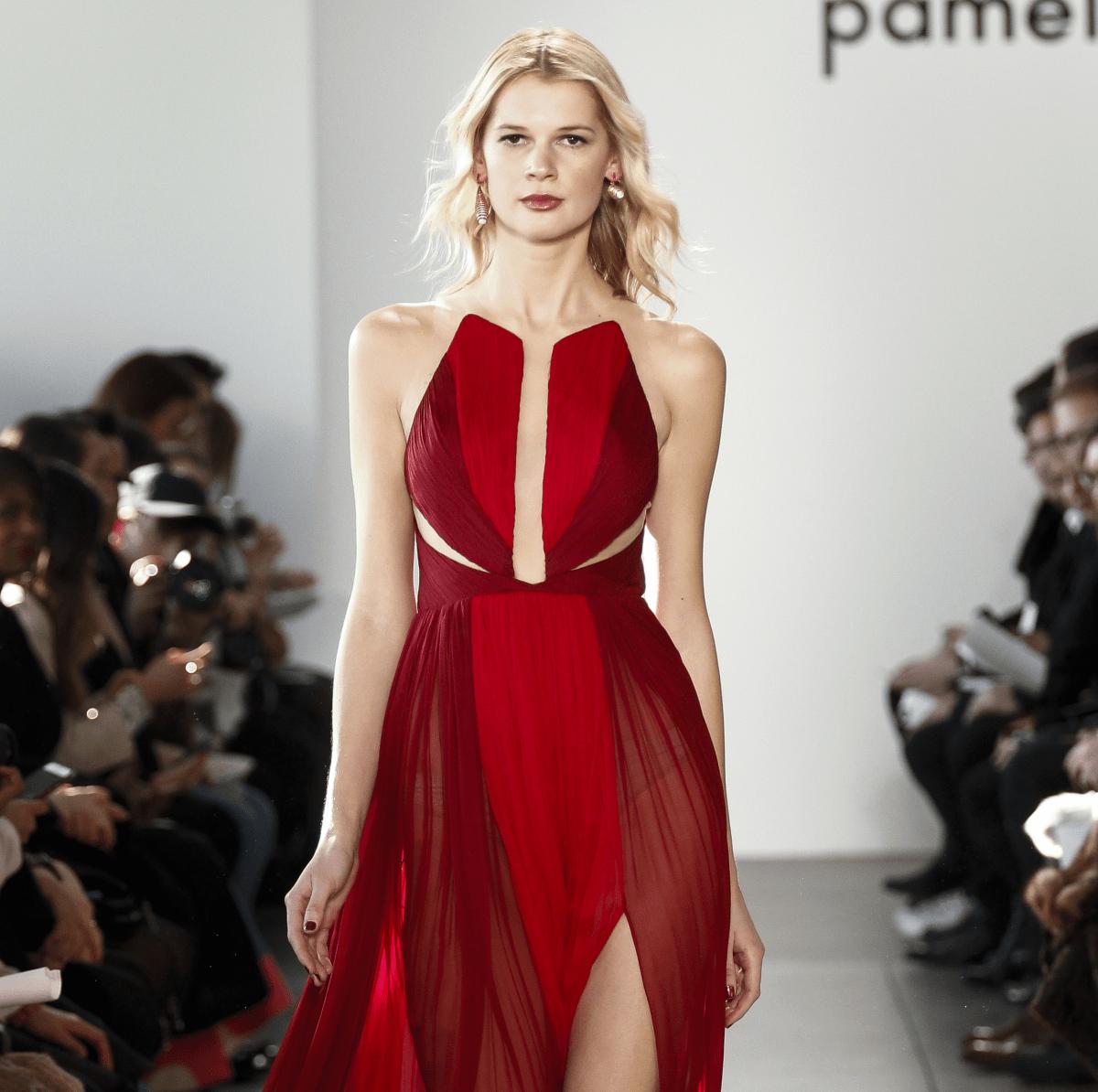 Pamella Roland fall 2017 look 20