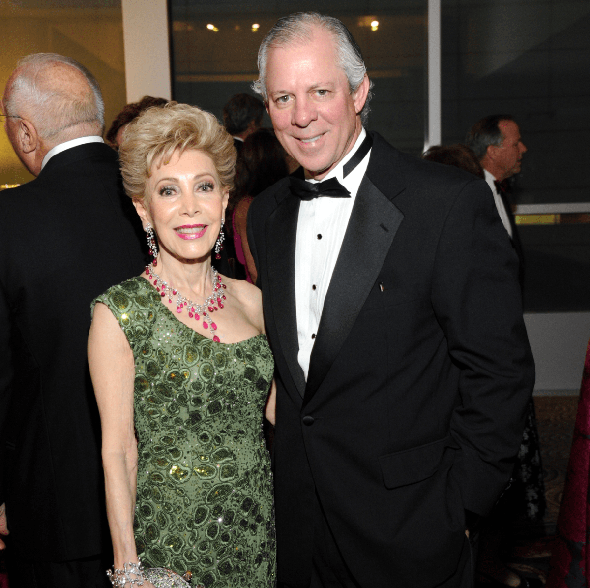 Houston, Heart Ball, Feb 2017, Margaret Alkek Williams, Dr. Robert C. Robbins