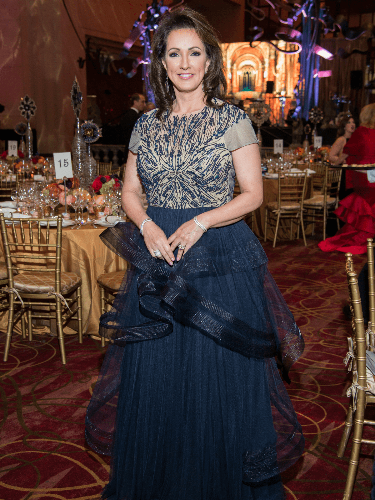 Houston, Ballet Ball gowns, Feb 2017, Alicia McGuire Smith in Monique Lhuillier