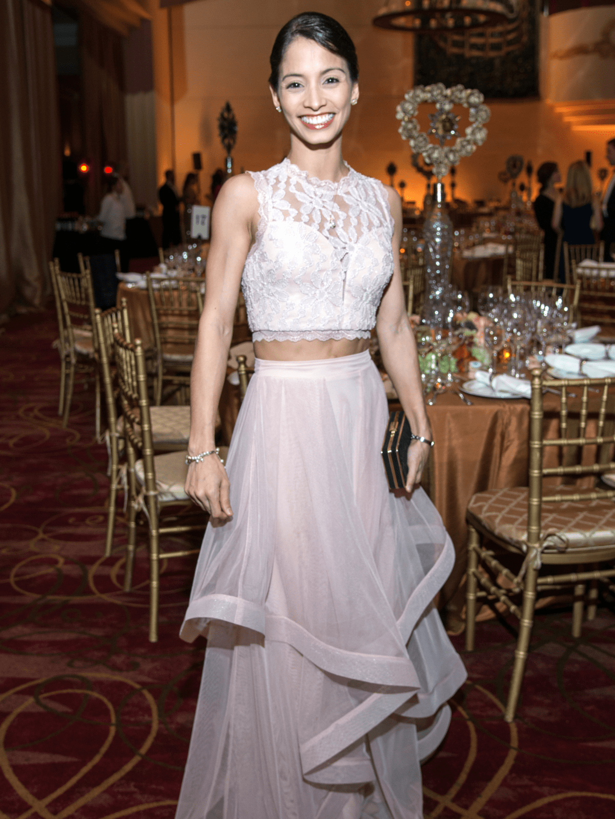 Houston, Ballet Ball gowns, Feb 2017, Houston Ballet principal Karina Gonzalez