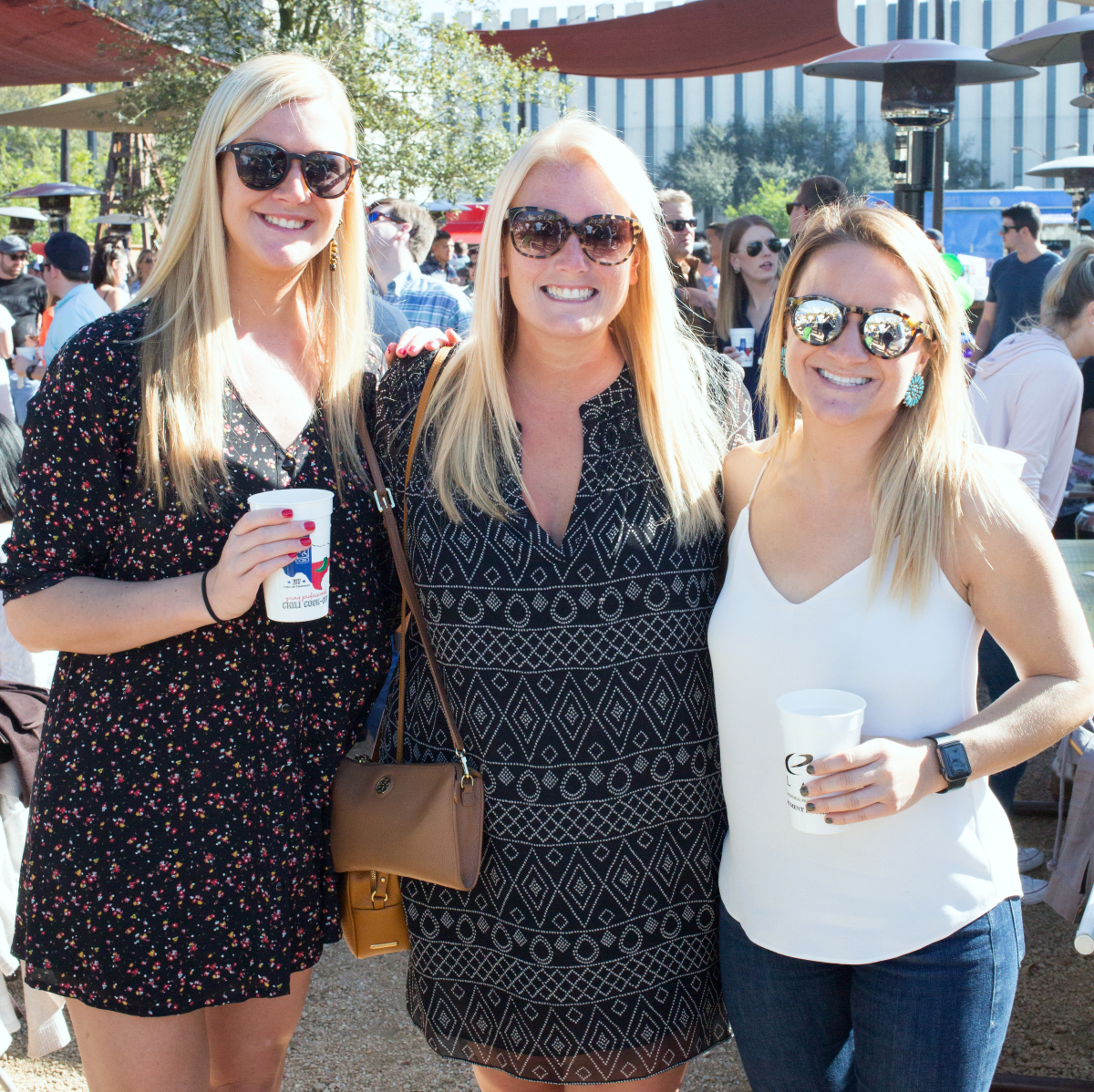 Houston, Casa de Esperanza 7th Annual Chili Cook-off, March 2017, Megan Favret, Molly Favret, Larianna Dunn