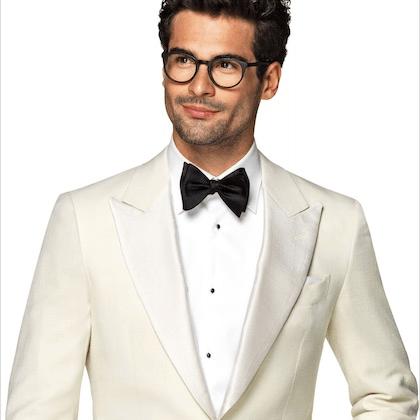 Suitsupply white tuxedo