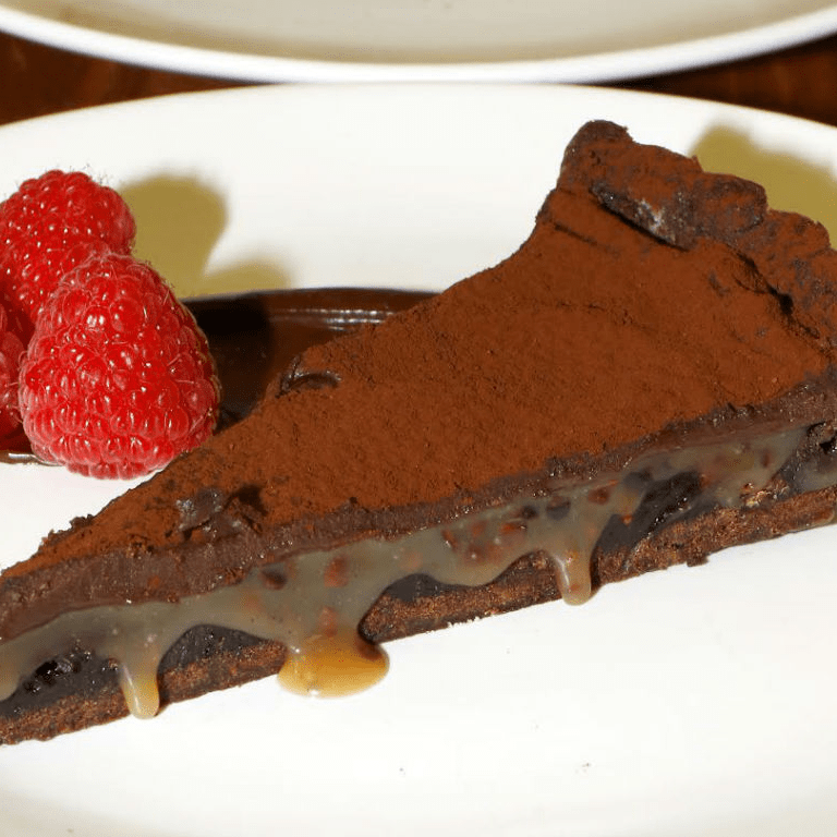 Nancy Silverton, salted chocolate tart