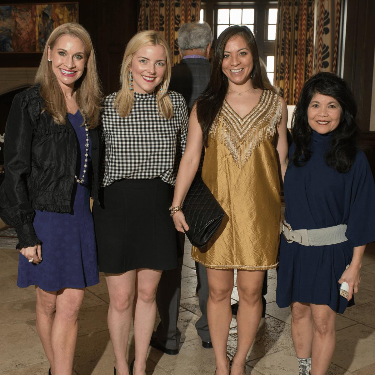 Maggie Kipp, Jane Rozelle, Samantha Wortley, Nancy Gopez