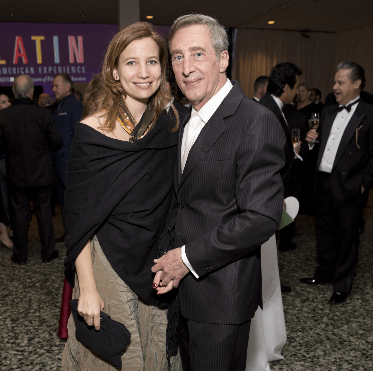Victoria Goldstein, Randall Jamail at Latin American Experience
