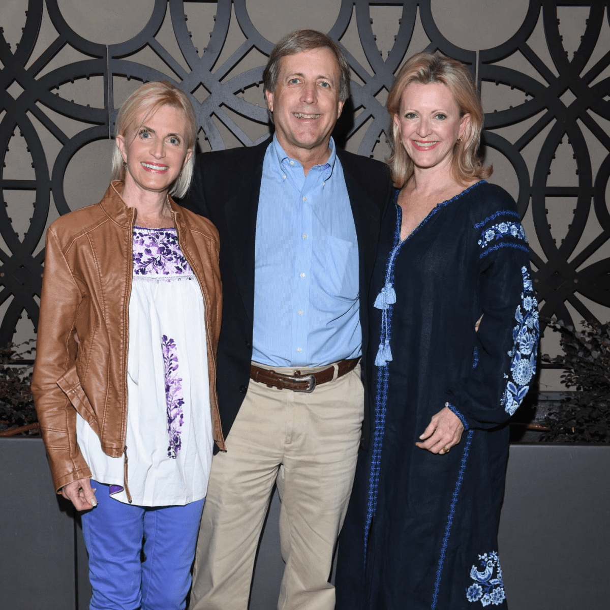 Fay Sheehan, Bragg Smith III, Ann Barbier-Mueller