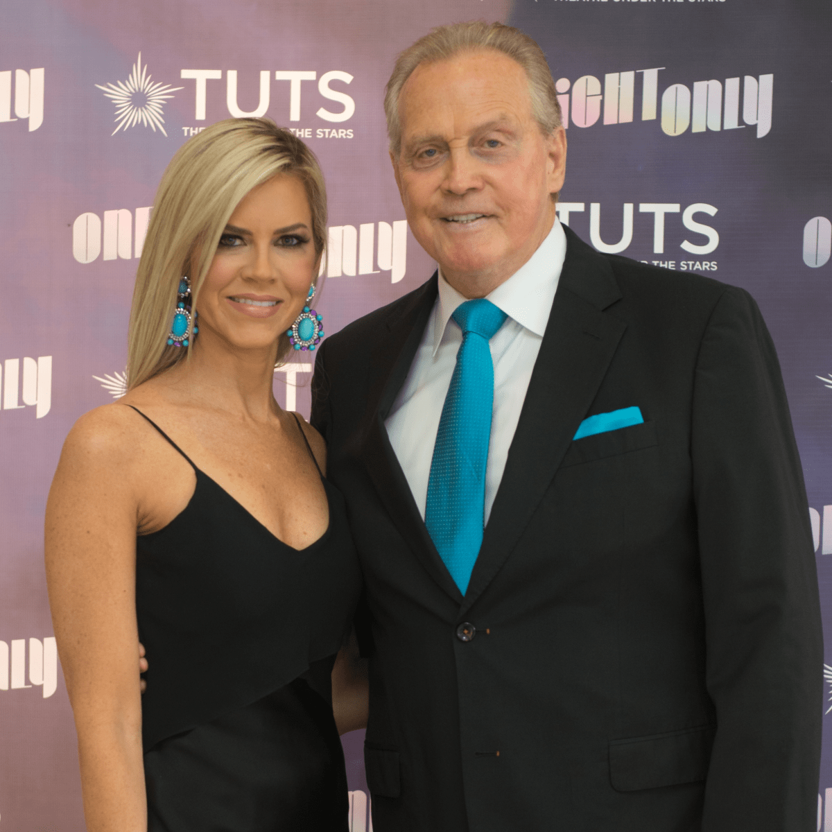 Faith and Lee Majors at 2017 TUTS Dreamgirls Gala