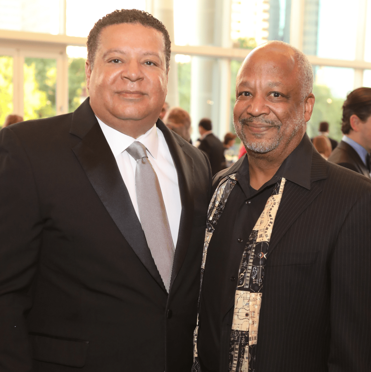 Frank Jones, Sheldon Epps at TUTS Dreamgirls Gala 2017