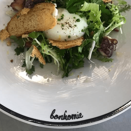 Bonhomie restaurant food