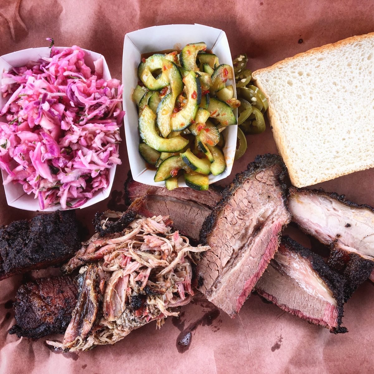 LeRoy and Lewis barbecue food truck