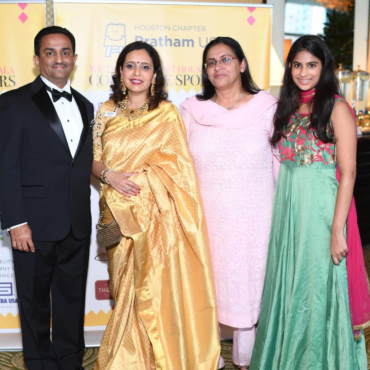 Pratham Gala, Pankaj Dhume, Asha Dhume, Rukmini Banerji, Riya Varadhachary