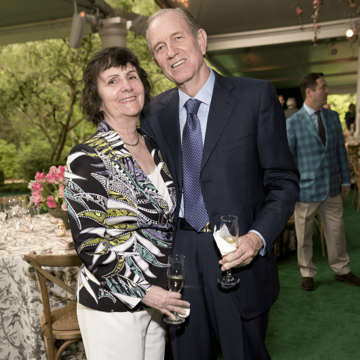 Bayou Bend Garden Party 2017 Leslie and Brad Bucher