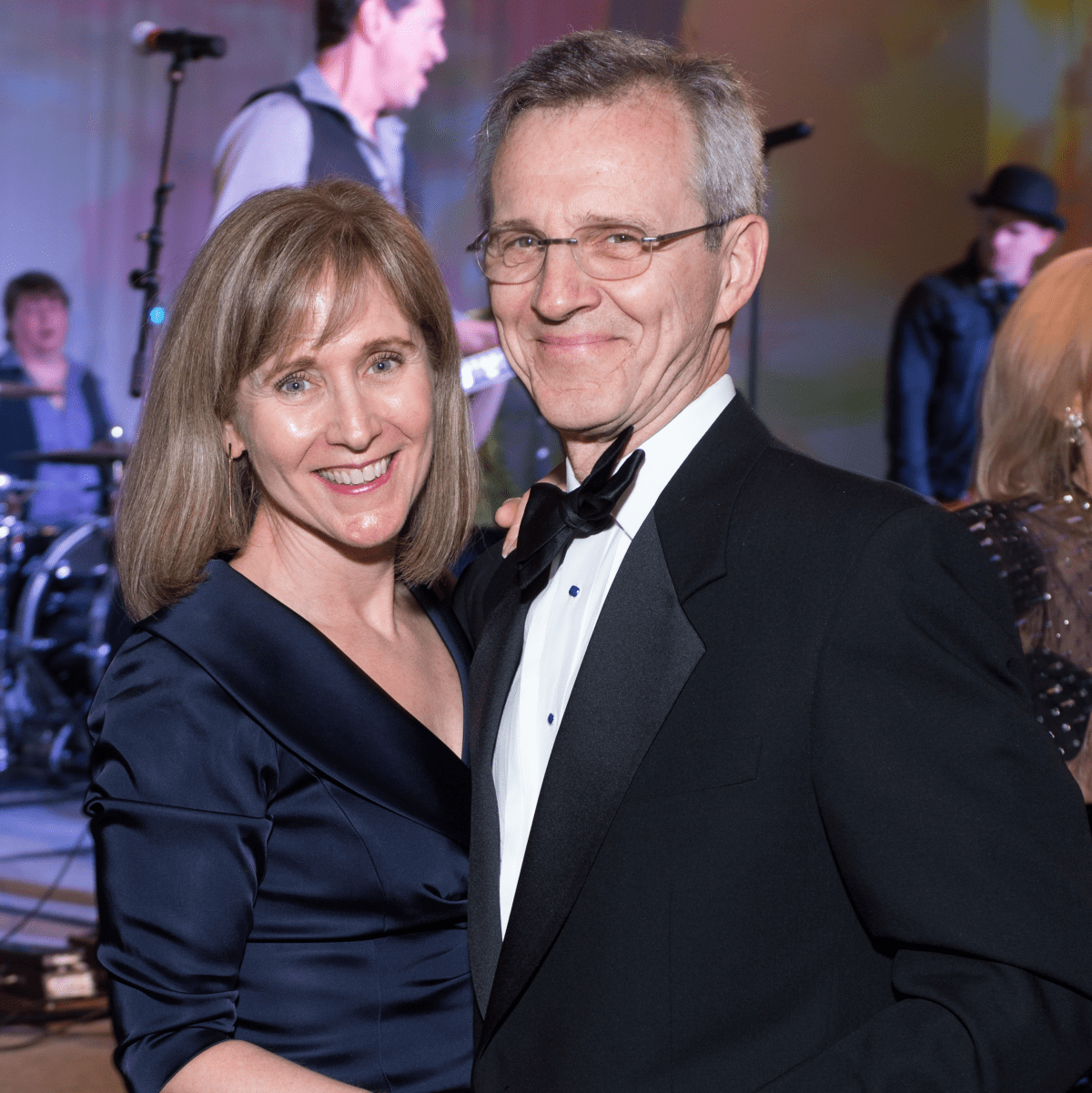 Gigi and Dr. Al Hergenroeder at Covenant House Gala 2017