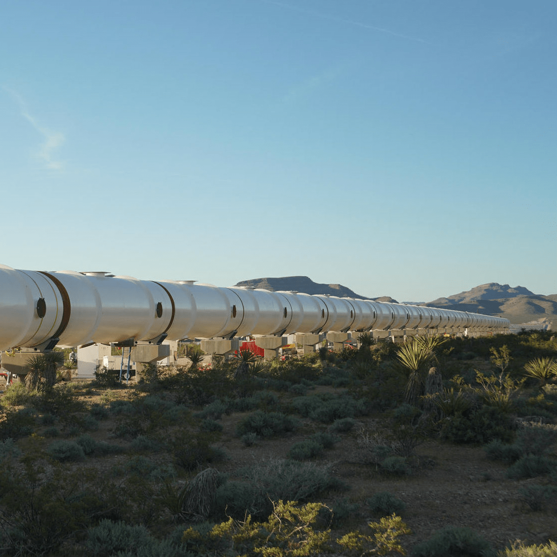 Hyperloop One Texas route