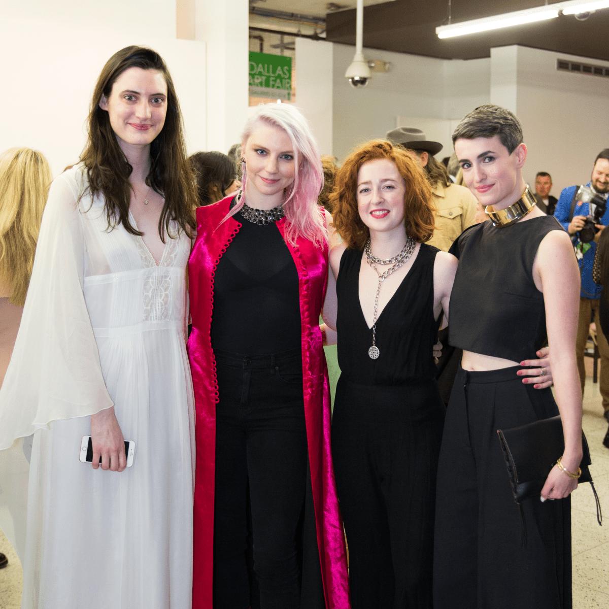 Kay Herriman, Trinity Wilson, Erin Pinover, Justine Ludwig