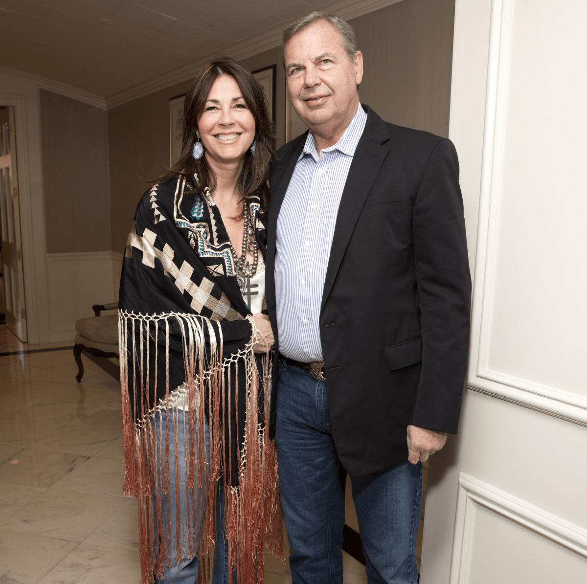 Houston, Blue Bird Circle Gala with Lyle Lovett, April 2017, Kathy Oliver, Brian Chandler