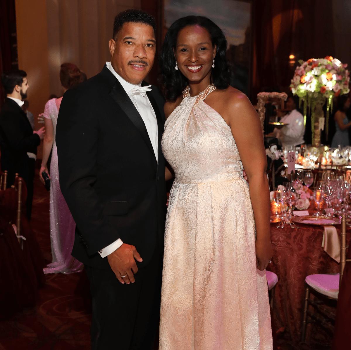 Houston, Houston grand opera ball, April 2017, Winell Herron, Doug Herron