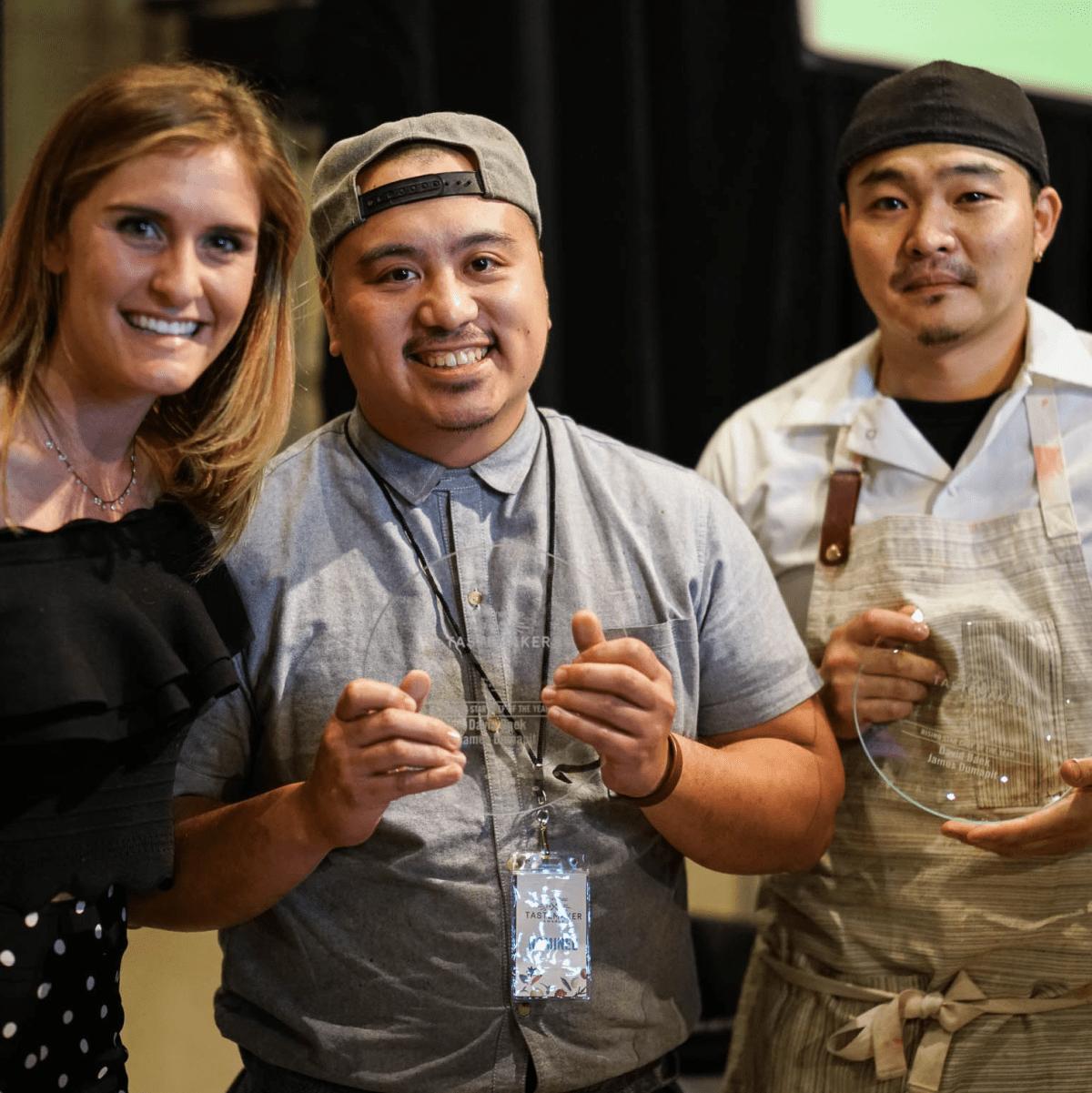 CultureMap Tastemaker Awards 2017 Rising Star Chef of the Year David Baek James Dumapit