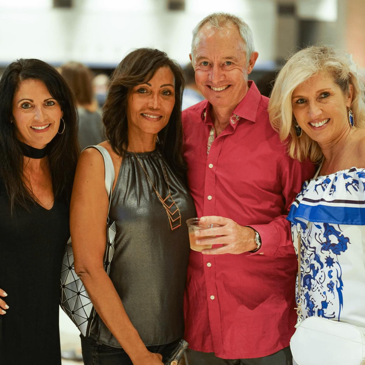 CultureMap Tastemaker Awards 2017 Paula Collins Alexis Cawley Simon Cawley Stephanie Samuels