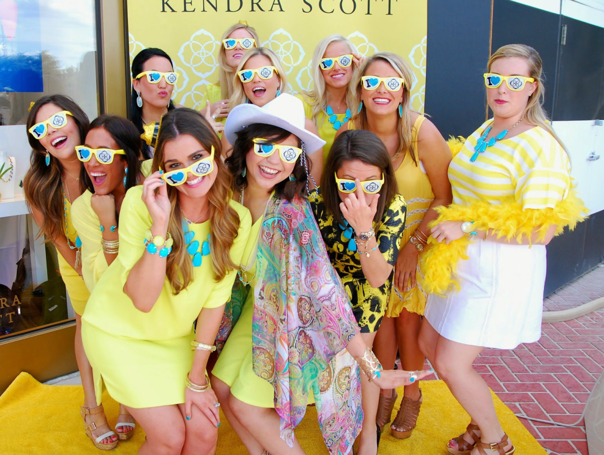 kendra scott grand opening party fort worth