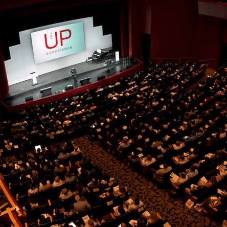 The UP Experience, crowd, auditorium, Stafford Performing Arts Theatre