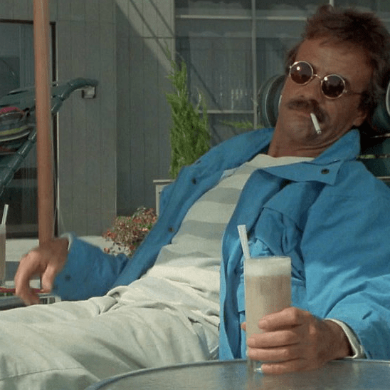 Weekend at Bernies with Terry Kiser as Bernie