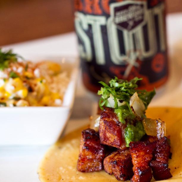 Deep Ellum Brewing Tacos + Beer