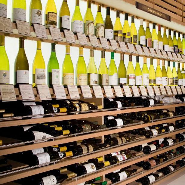 Interior of Cork Wine Bar in Dallas