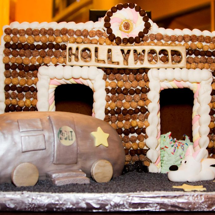 """Sixth Annual Christmas """"Tail"""" Gingerbread Doghouse Contest and Auction"""