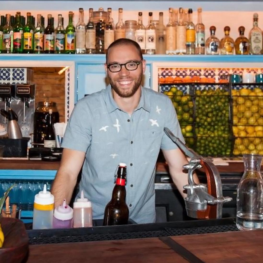 Bobby Heugel bartender The Pastry War