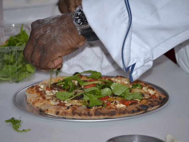 Chef TJ's Wood Fired Pizza