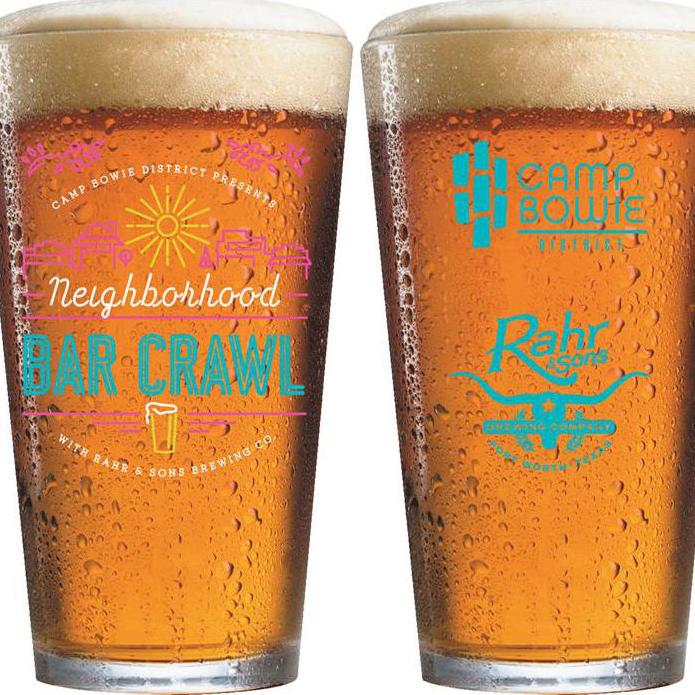 Camp Bowie District presents 2014 Neighborhood Bar Crawl