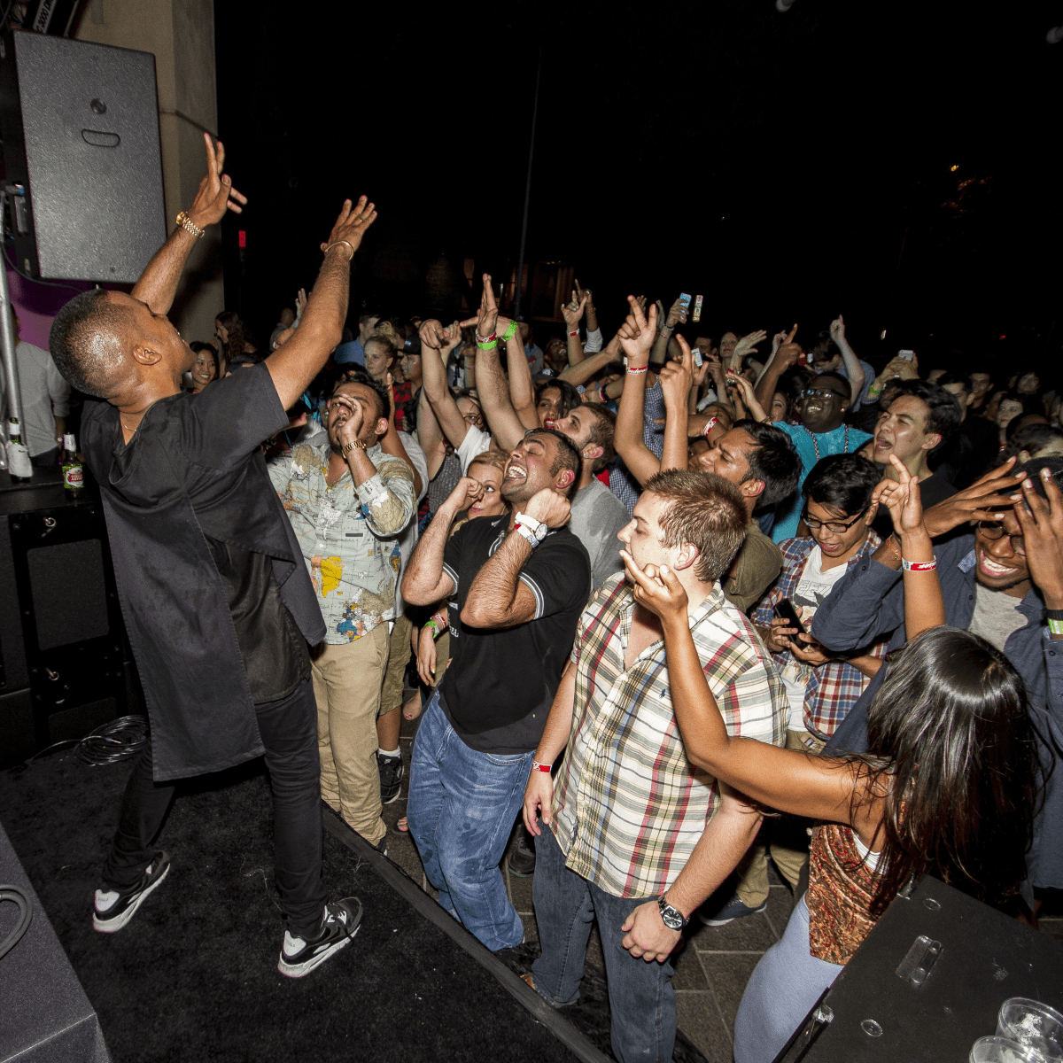 Lunice at the MFAH Mixed Media Party June 2014