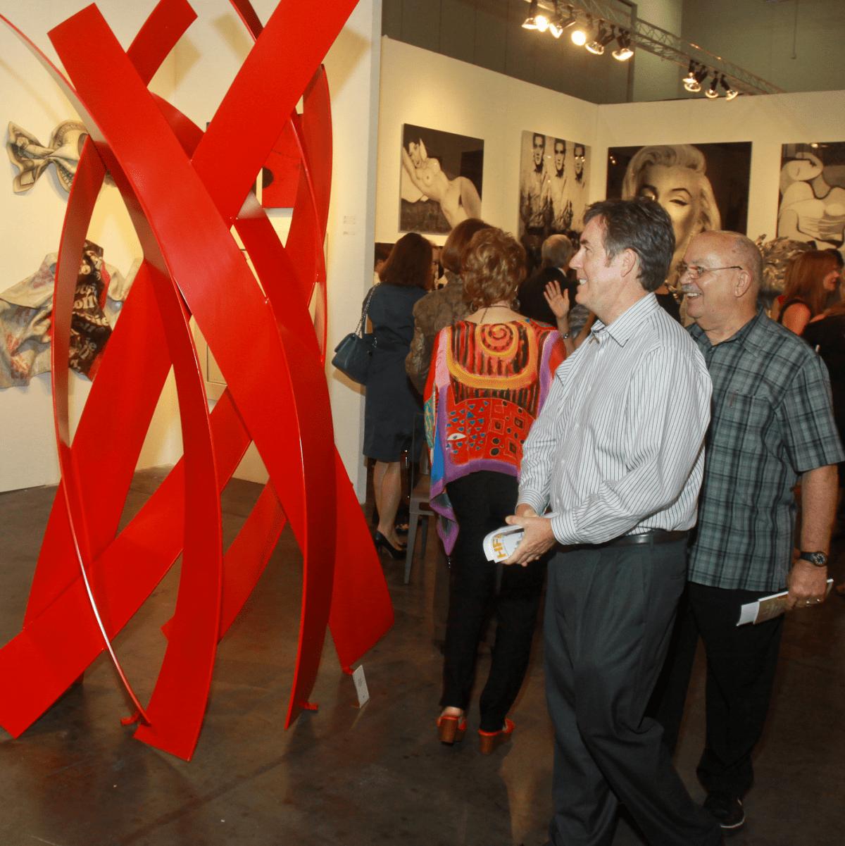 Houston Fine Art Fair Exhibit
