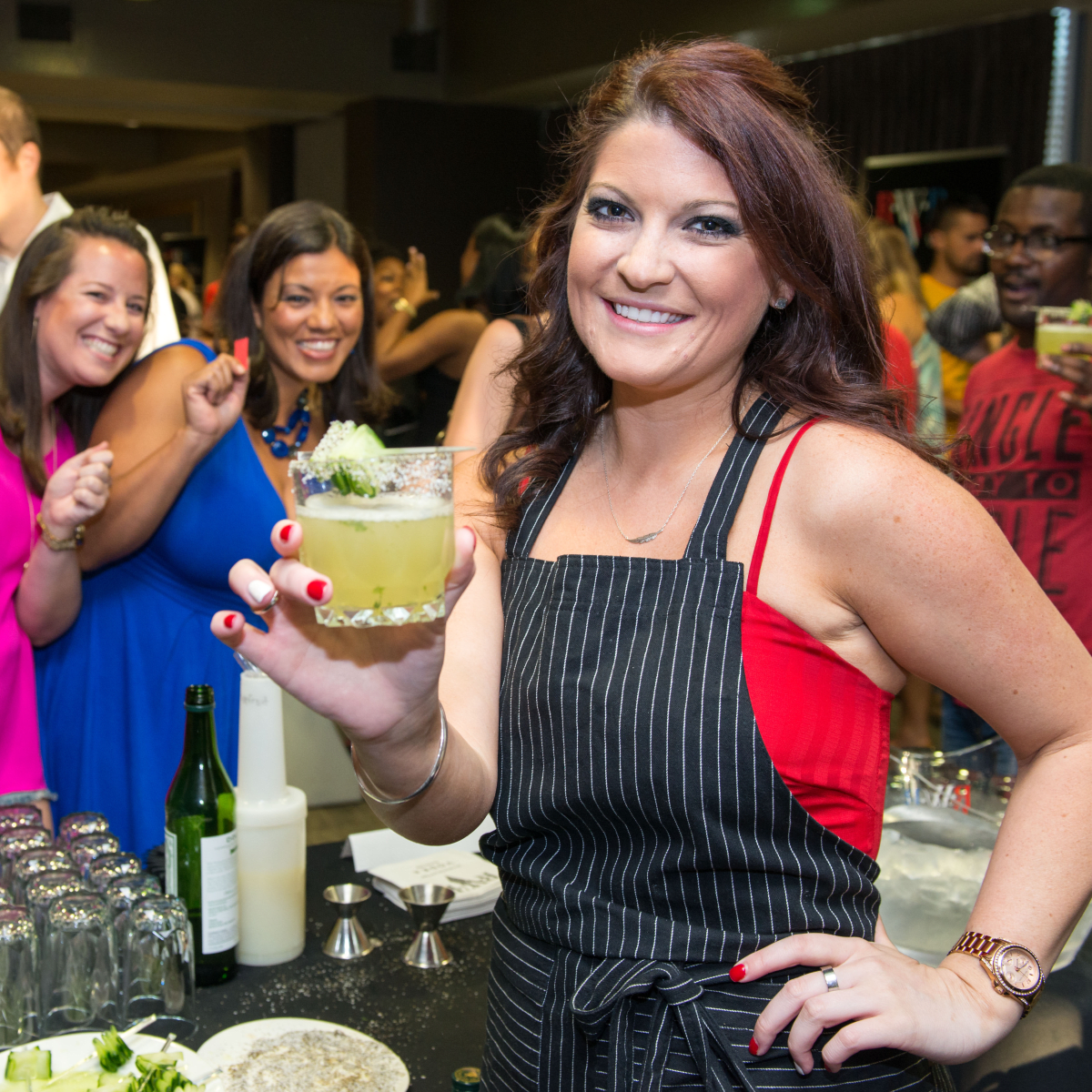 13 Brittany Austin at the Crafted mixology contest at Mr. Peeples July 2014