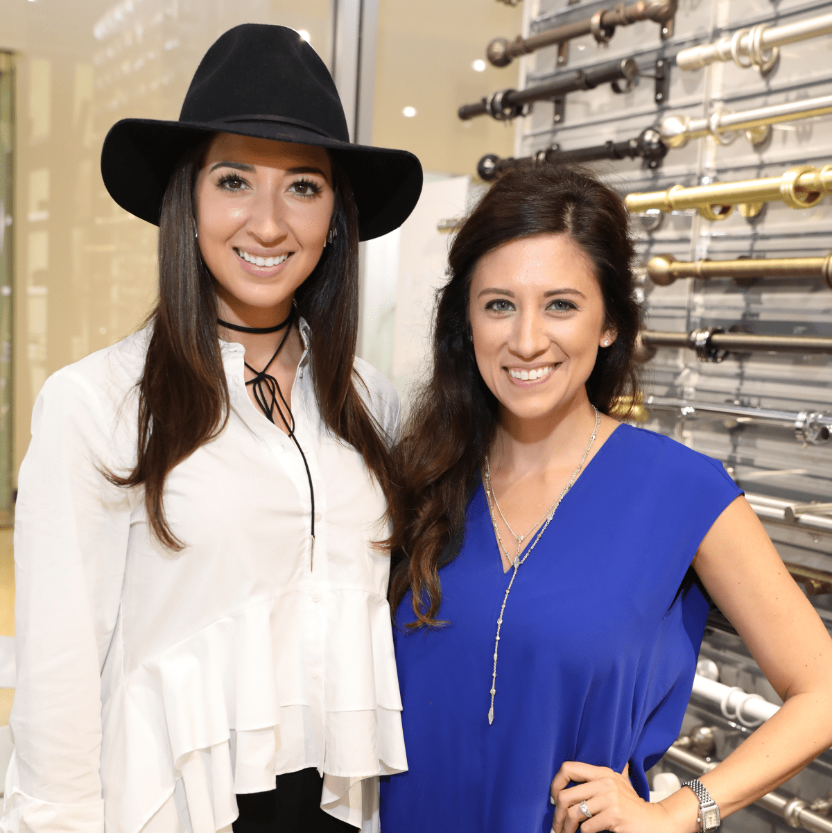 Mackenzie Cash, Ellen Cairns at Decorative Center Spring Market